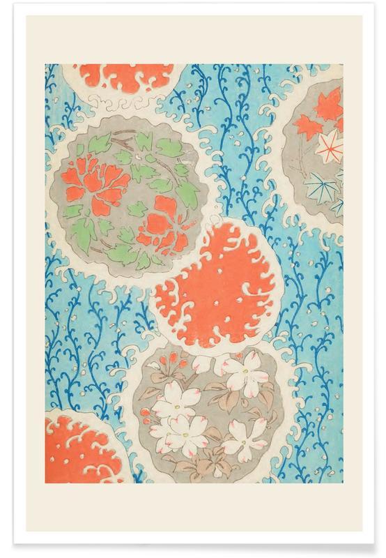 Shin-Bijutsukai, Vintage reis, Japans geïnspireerd, Shin-Bijutsukai - Float poster