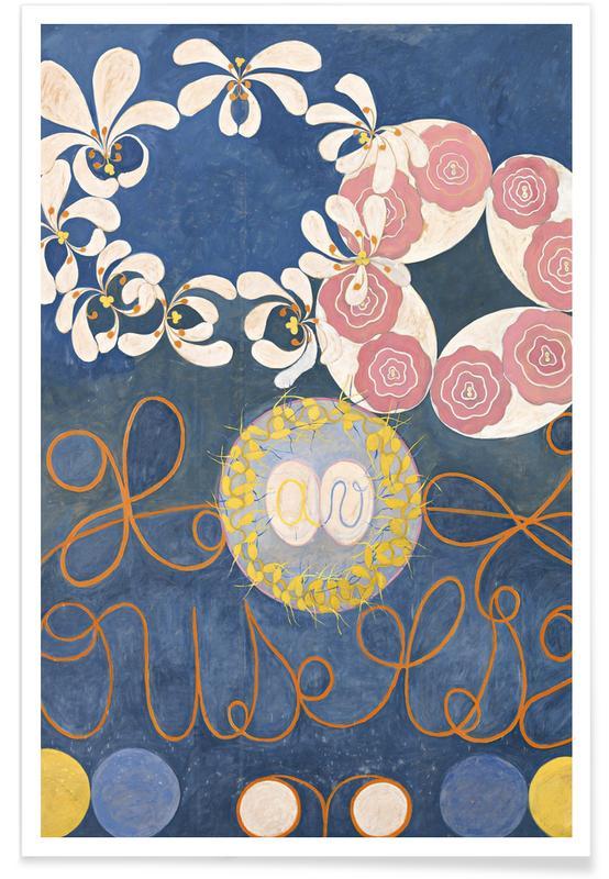 Hilma af Klint, The Ten Largest, No.1 III affiche