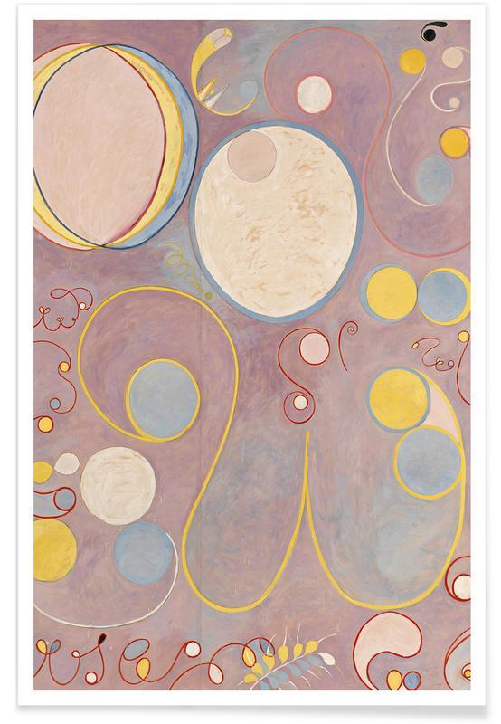 Hilma af Klint, The Ten Largest, No. 8 III affiche