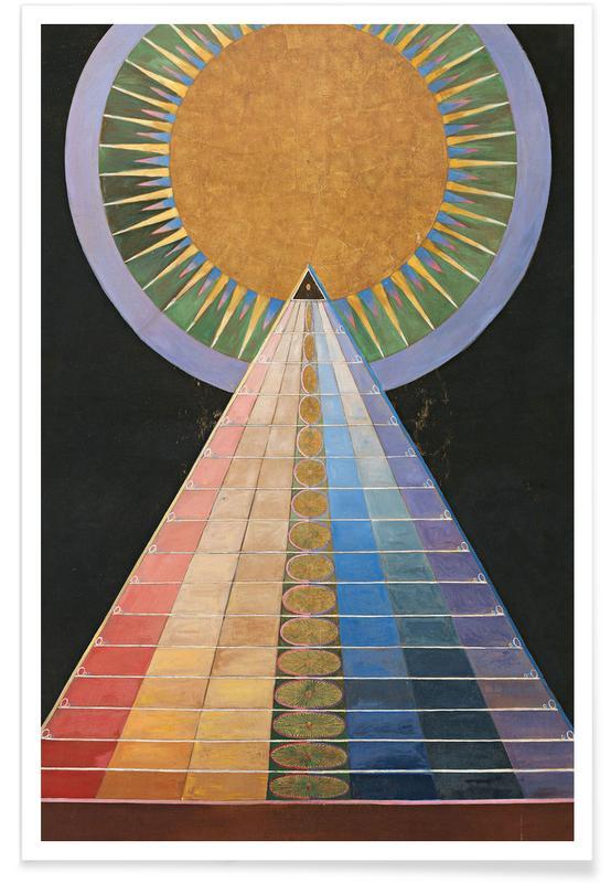 Hilma af Klint, Altarpiece, No. 1 III affiche