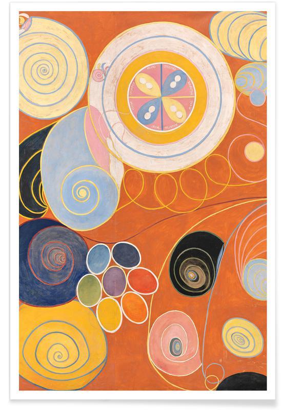 Hilma af Klint, Hilma af Klint - They Tens Mainstay IV III poster
