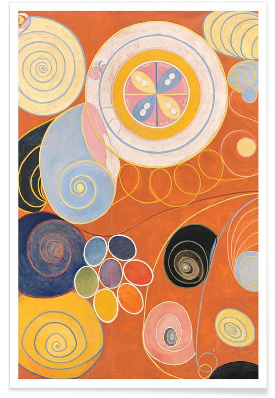 Hilma af Klint, They Tens Mainstay IV III Poster