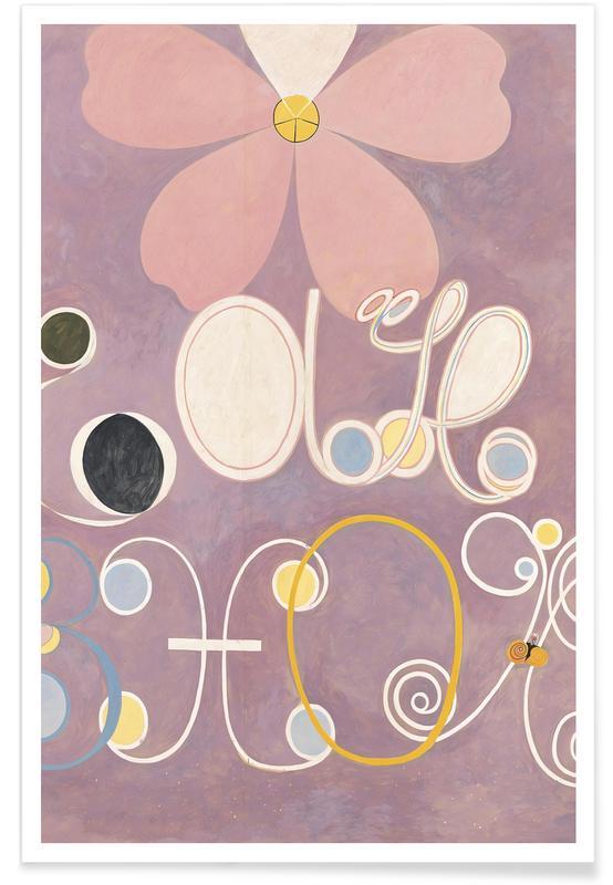 Hilma af Klint, The Ten Largest, No. 5 III affiche