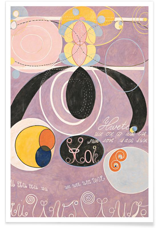 Hilma af Klint, The Ten Largest, No. 6 III affiche