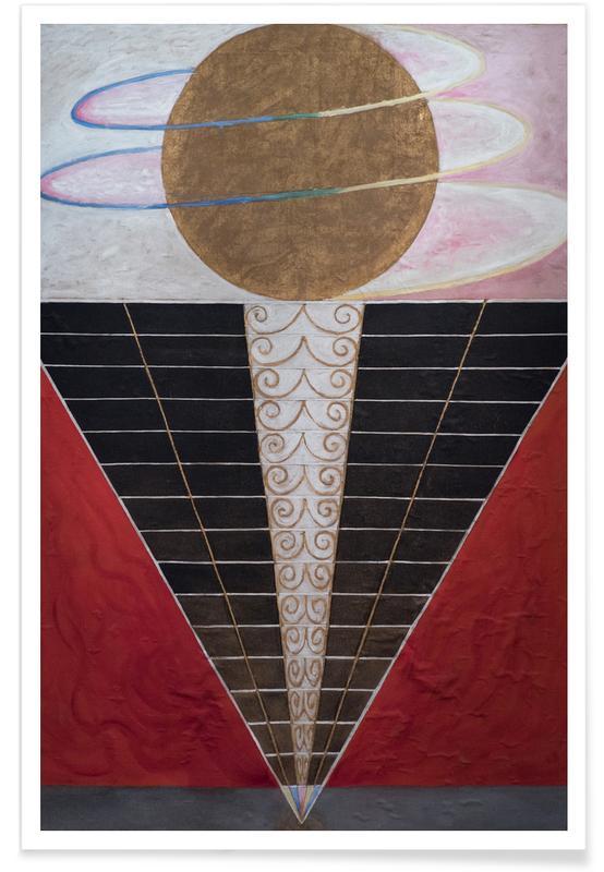 Hilma af Klint, Altarpiece, No. 2 III affiche