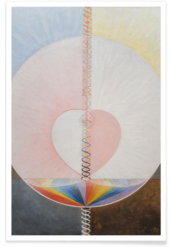 Hilma af Klint, The Dove, No. 1 III affiche