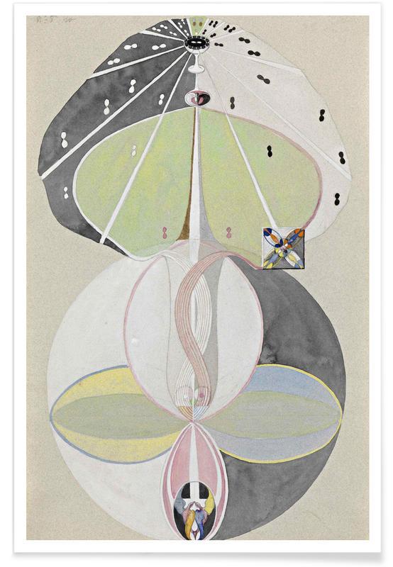 Hilma af Klint, Tree of Knowledge III affiche