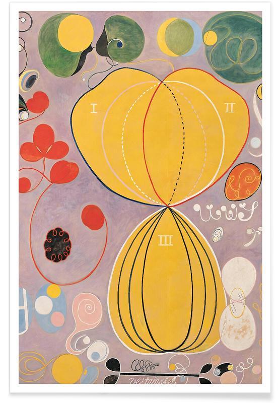 Hilma af Klint, The Ten Largest, No. 7 III affiche