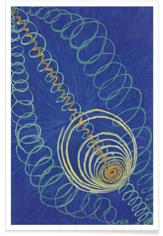 Hilma af Klint, Primordial Chaos, No. 16 III -Poster
