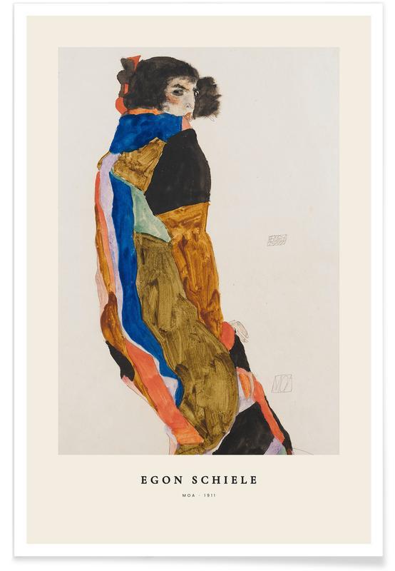Egon Schiele, Schiele - Moa -Poster
