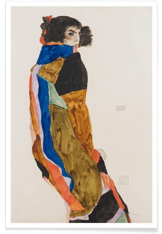 Egon Schiele, Schiele - Moa II Poster
