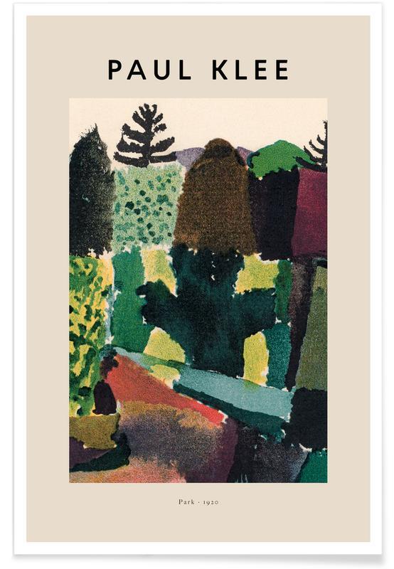 Paul Klee, Paul Klee - Park - 1920 affiche