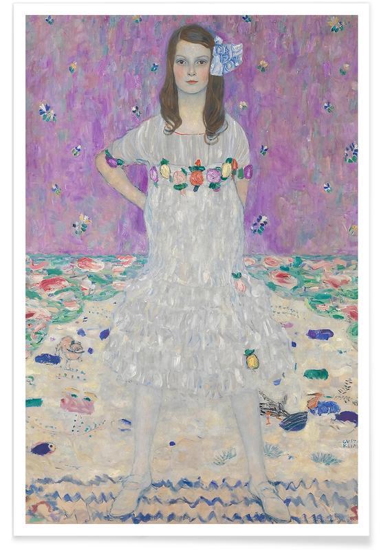 Gustav Klimt, Gustav Klimt - Madam Primavesi affiche