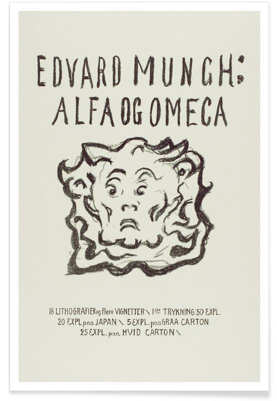 Edvard Munch, Munch - Alpha and Omega Poster
