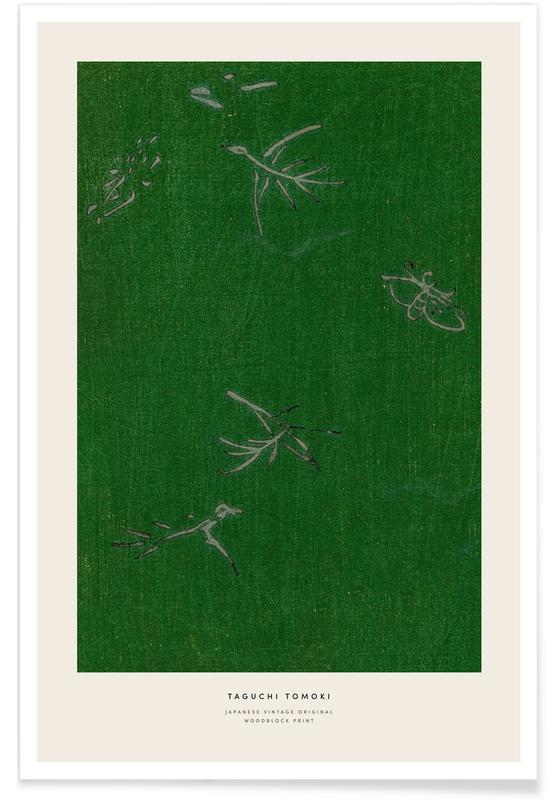 Japanisch inspiriert, Tomoki - Japanese Woodblock Print -Poster