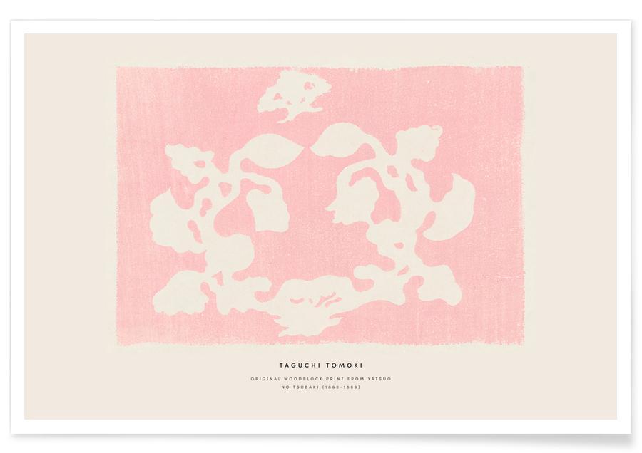 D'inspiration japonaise, Tomoki - Nature Woodblock Print affiche