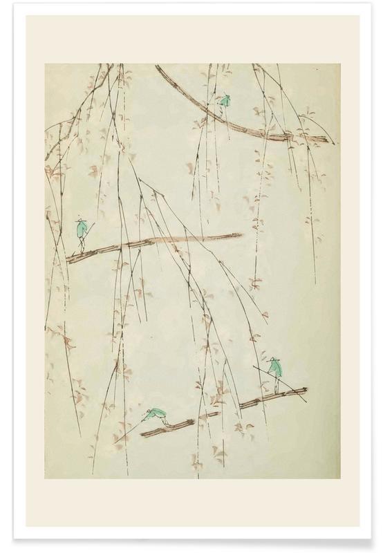 Vintage voyage, D'inspiration japonaise, Shin-Bijutsukai - Harvest affiche