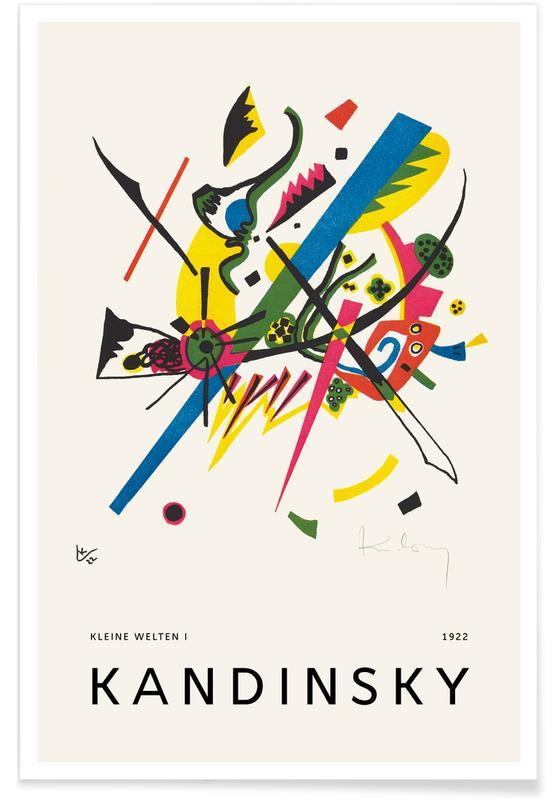 Wassily Kandinsky, Kandinsky - Kleine Welten I affiche