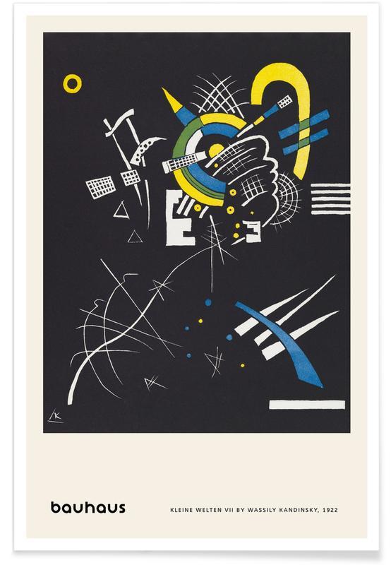 Wassily Kandinsky, Kandinsky - Kleine Welten VII poster