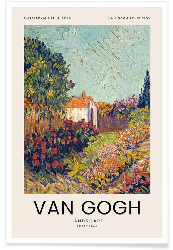 Vincent Gogh, van Gogh - Landscape affiche