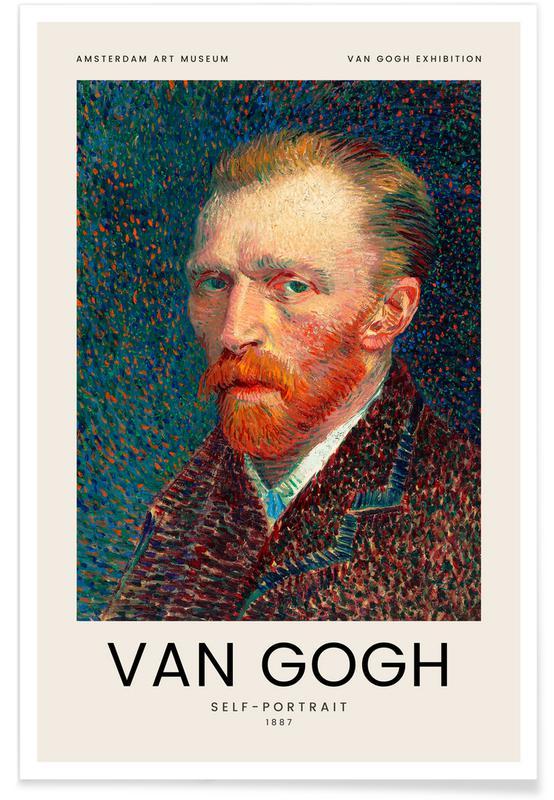 Vincent Van Gogh, van Gogh - Self-Portrait affiche