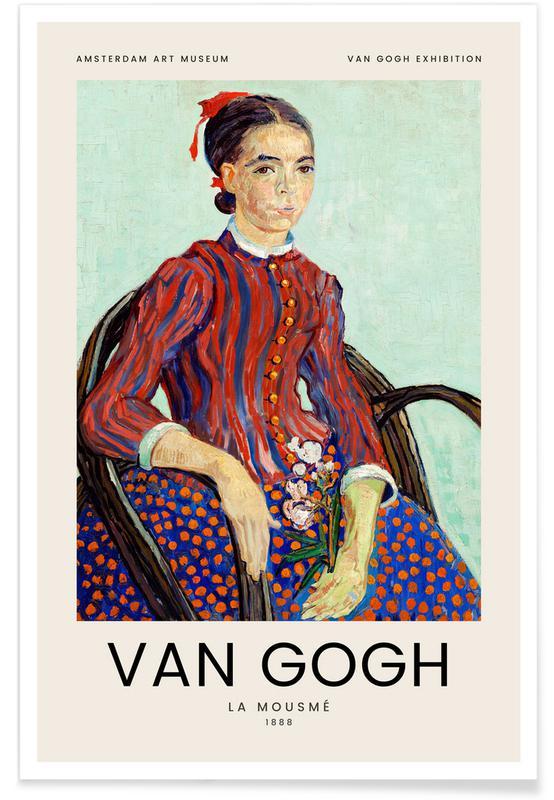 Vincent Van Gogh, van Gogh - La Mousmé affiche