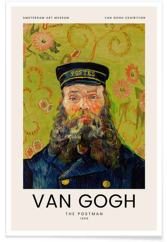 Vincent Van Gogh, van Gogh - The Postman affiche