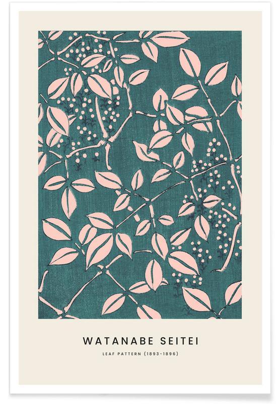 , Seitei - Leaf Pattern affiche