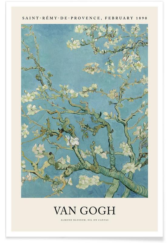 , van Gogh - Almond Blossom affiche