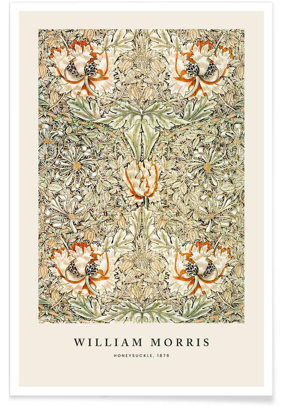 , William Morris - Honeysuckle Plakat
