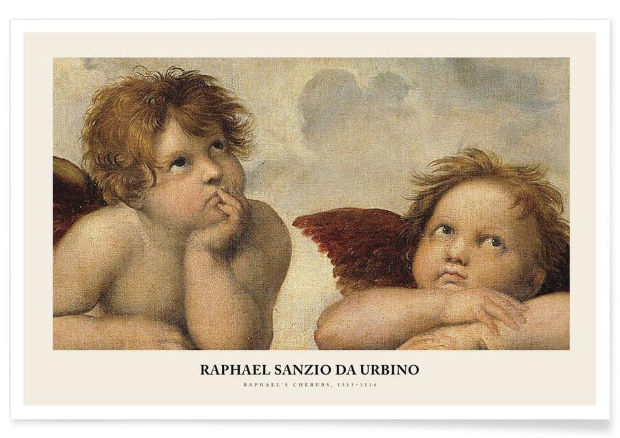 , Raphael - Raphael's Cherubs Poster