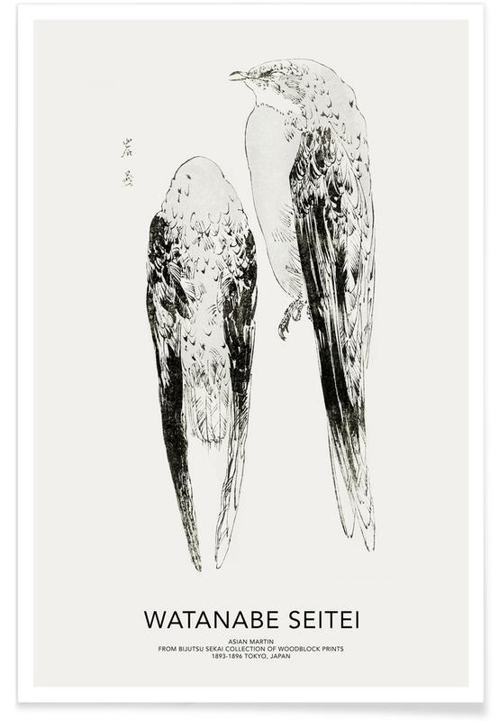 Seitei, Japanese Inspired, Seitei - Asian Martin Poster