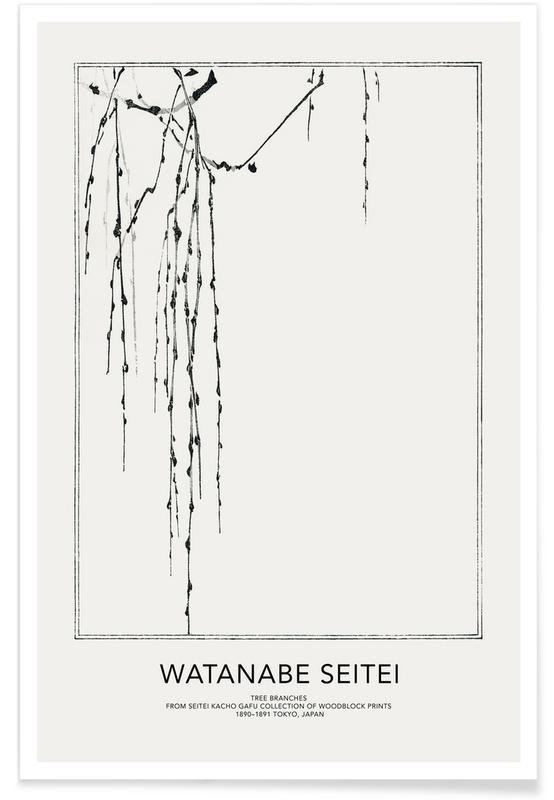 D'inspiration japonaise, Seitei - Tree Branches II affiche