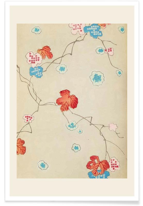 Vintage voyage, D'inspiration japonaise, Shin-Bijutsukai - Autumn affiche