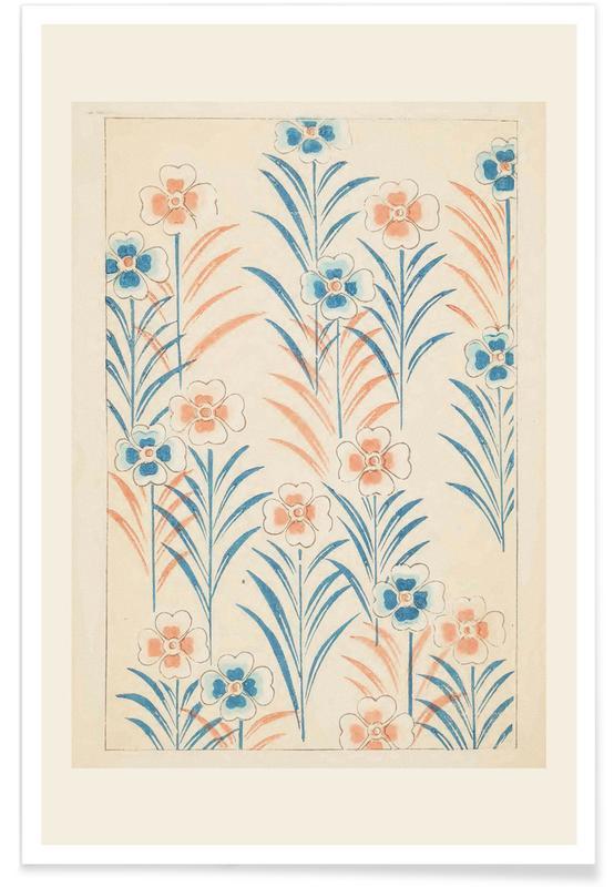 Vintage Reise, Japanisch inspiriert, Shin-Bijutsukai - In Bloom -Poster