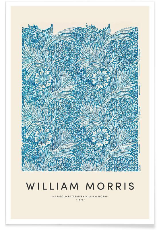 D'inspiration japonaise, William Morris - Marigold affiche