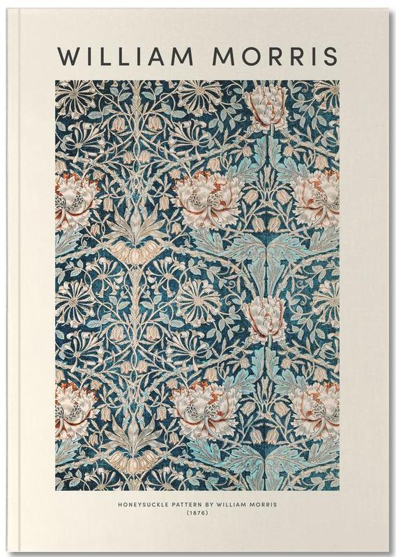 Japanisch inspiriert, William Morris, William Morris - Honeysuckle Notebook