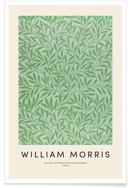 D'inspiration japonaise, William Morris, William Morris - Willow Pattern affiche