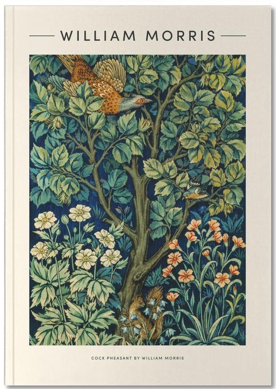 Japanisch inspiriert, William Morris, William Morris - Cock Pheasant Notebook