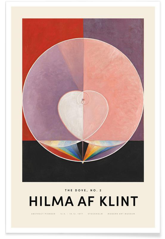 Hilma af Klint, Dove, No. 2 affiche