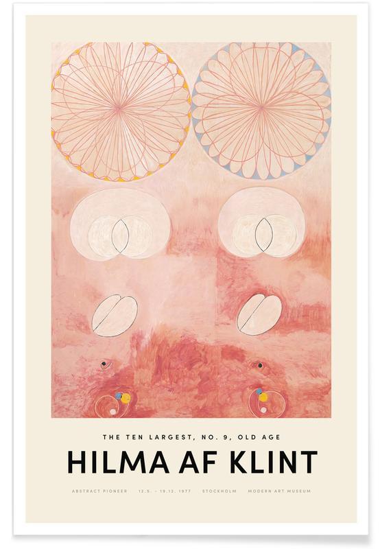 Hilma af Klint, The Ten Largest, No. 9 affiche
