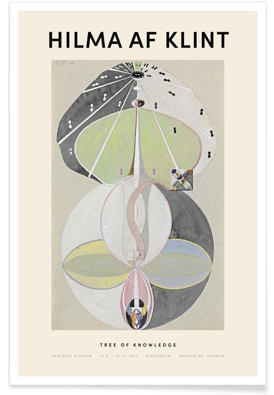 Hilma af Klint, Tree of Knowledge affiche