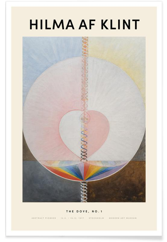 Hilma af Klint, The Dove, No. 1 affiche