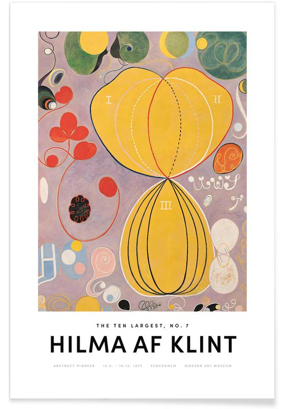 Hilma af Klint, The Ten Largest, No. 7 II affiche