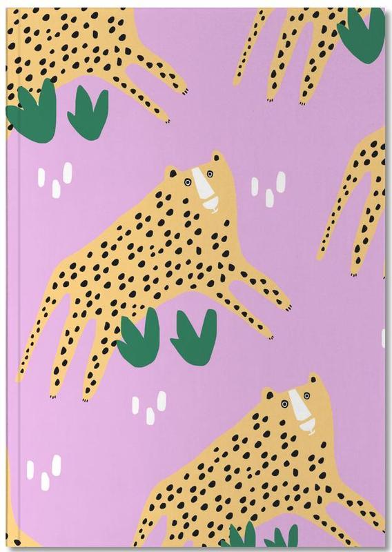 Alfabet en letters, Luipaarden, Leopards Notebook
