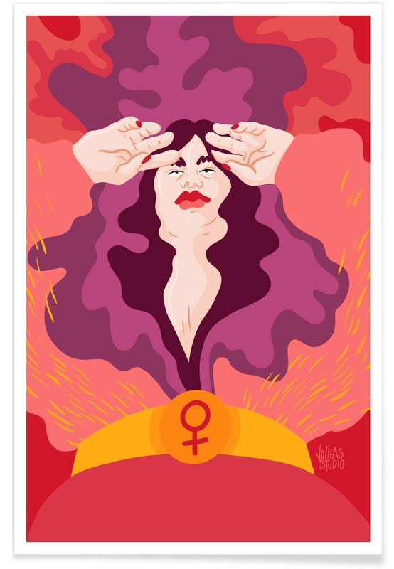 Portretten, Pink Vibration poster