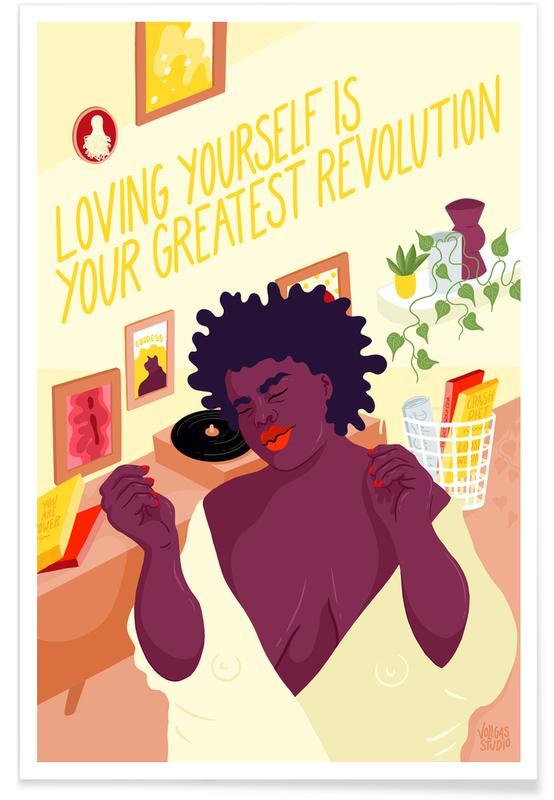 Porträts, Paare, Greates Revolution -Poster