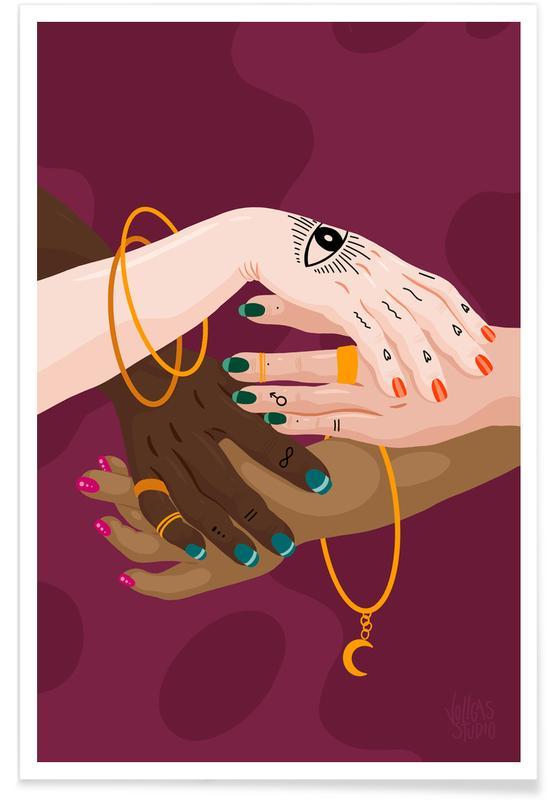 Portraits, Couples, Witches Unite affiche