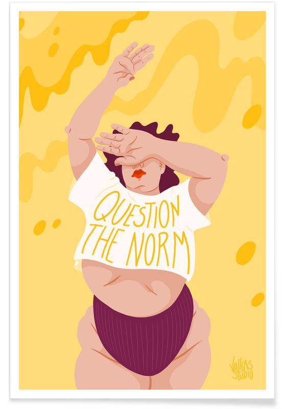 Porträts, Paare, Question The Norm -Poster
