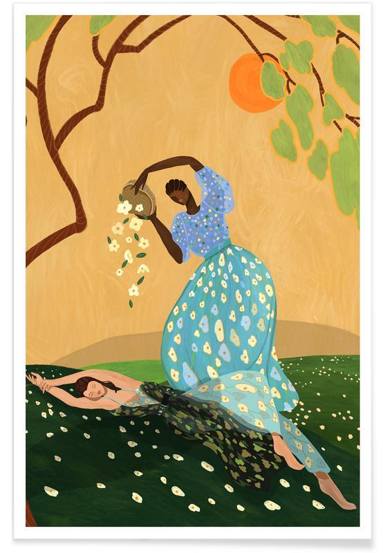 Tanzen, Strände, Summerbliss -Poster
